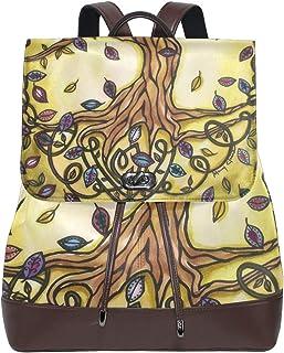 FAJRO Tree of Life Mochila de Piel