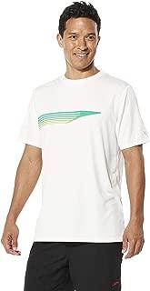 Speedo Mens Short Sleeve 7748041-P, Mens, Short Sleeve, 7748041, White, Large