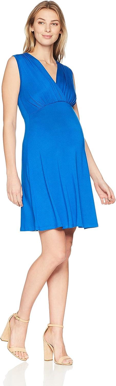 Maternal America Womens Mini Sleeveless Empire Dress Dress