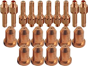 8-7502 Plasma Electrode 8-7503 Tip 0.9mm 35Amp Fit Thermal Dynamics PCH M80 60 75 76 Plasma Cutter 20pcs