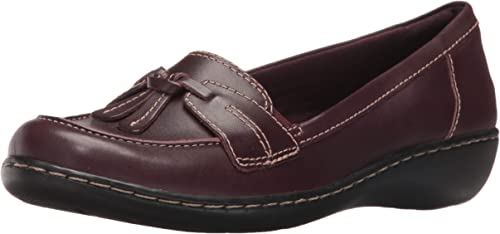 CLARKS Wohombres Ashland Bubble Burgundy Patent Leather 12 A US A - Narrow