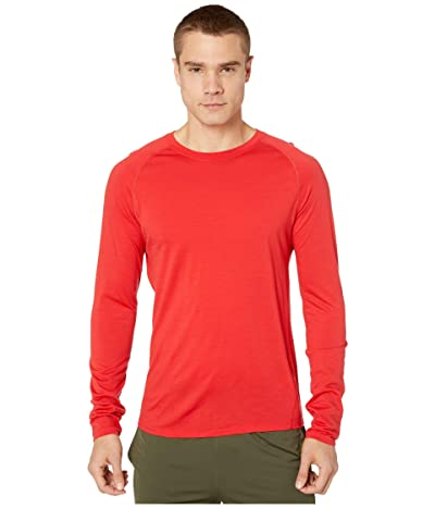 Smartwool Merino 150 Baselayer Long Sleeve (Cardinal Red) Men