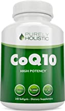 CoQ10 240 SoftGels 100% Money Back Guarantee High Absorption Coenzyme Q10 Made in The USA to GMP Standards Up to 8 Month's...