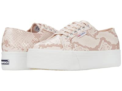 Superga 2790 Synthsnake Sneaker (Pink Snake) Women