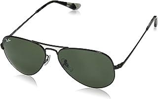 Ray-Ban 0rb3689 Aviator - anteojos de sol (58,0 mm), color negro