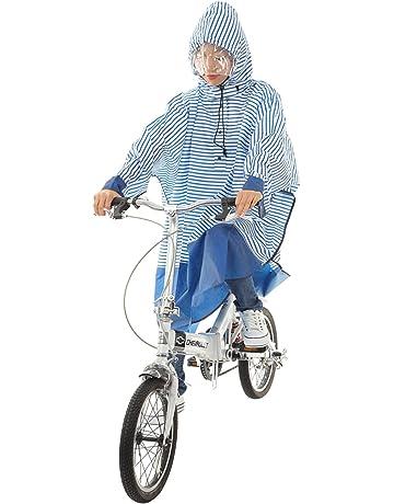 ブラック 通勤通学サイクルレイン LL 50803 雨具 自転車 シルバー/