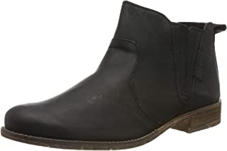 Sienna 45 Womens Casual Chelsea Ankle Boots 39 M EU/ 8-9 B(M) US Black Leather