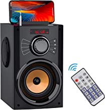 Portable Bluetooth Speakers with Subwoofer Rich Bass...