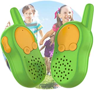 Children`s Walkie Talkies for Kids with Long Range 2 Way Radio Flashlight Best Gifts and Avengers Outdoor Toys for Girls B...