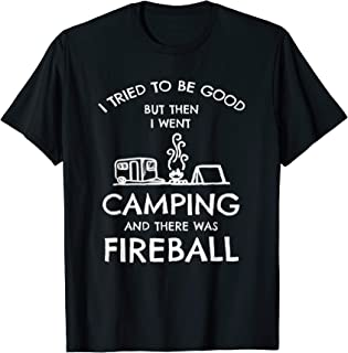 I Tried To Be Good But Then I Went Camping Tee Camping Lover T-Shirt
