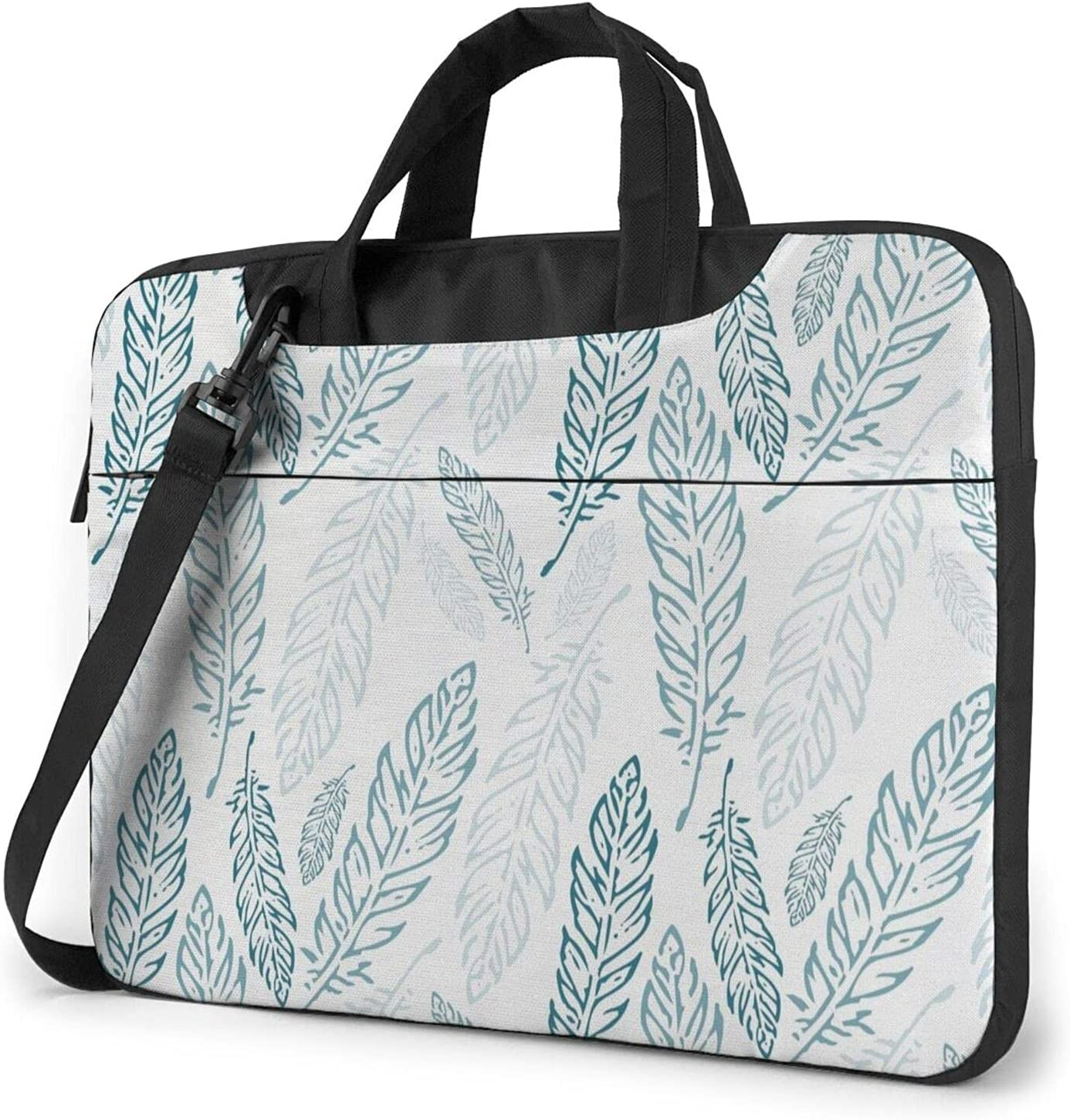 Feather Clearance SALE Limited time Light Classic Max 44% OFF Slim Briefcase Crossbody Shoulder Bag Des