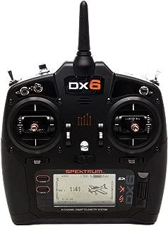 Spektrum DX6 6-Channel 2.4GHz DSMX RC Radio Transmitter Only, SPMR6750