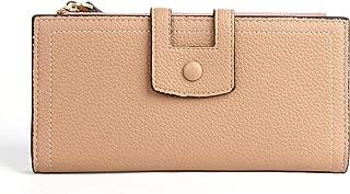 Women wallet - Litchi-print envelope wallet Trifold Wallet Clutch Checkbook Wallet for Fashion Purse