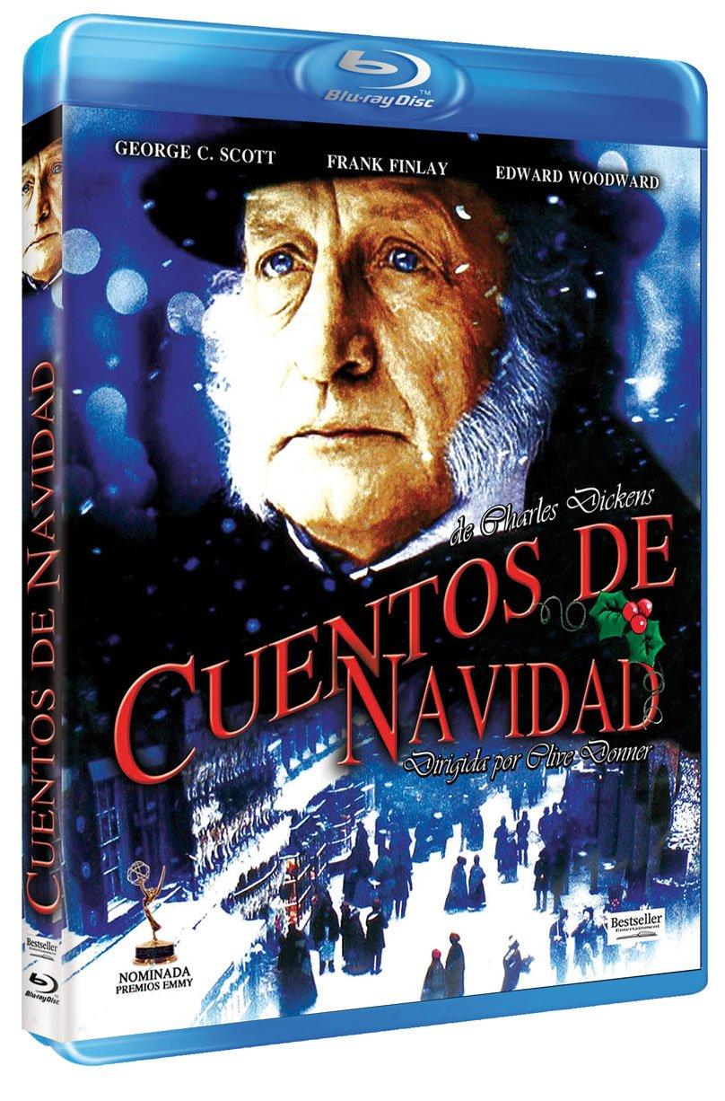 A shop Christmas Carol Blu-Ray Reg.A Translated Spain - B C Import