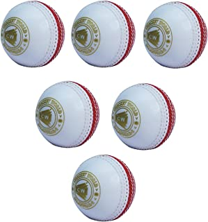 2 X SPIN Red Cricket Ball Light Poly Soft For Outdoor Match Practice Training
