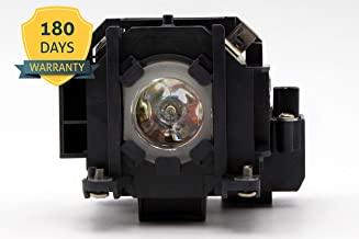 ELPLP38/V13H010L38 Premium Projector Replacement Lamp with Housing for EPSON PowerLite 1700c 1705c 1710c 1715c EMP-1710 EMP-1715 EMP-1717