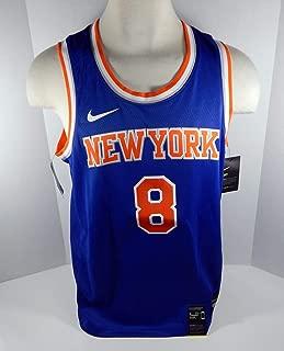 Mens New York Knicks Michael Beasley #8 Blue Icon Jersey Swingman M Nike