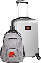 NFL Cleveland Browns Deluxe 2-Piece Backpack and Carry on Set