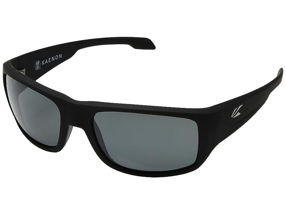 135d45d3838d Kaenon Anacapa (Black Matte Grip Ultra Grey12-Polarized) Sport Sunglasses