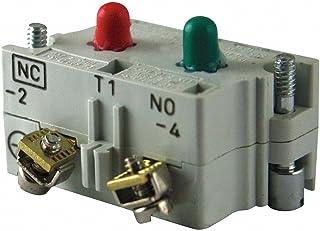 Eaton 10250T1 Switch Contact Block, 30.5mm Diameter, Screw Terminals, SPDT-1NO/1NC Contacts