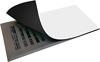 """Strongest Available Magnetic Vent Cover for Floor and Wall Vents - 5.5""""x12"""" (3 Pack), Super Thick AC Vent Cover, Easily Cu..."""