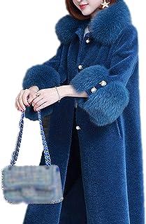 Abrigo largo de oso de peluche para mujer, para invierno, grueso, cálido, de gran tamaño, ropa de abrigo grueso