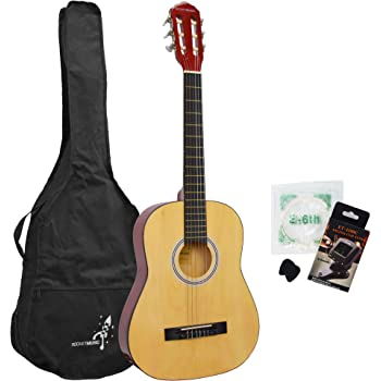Rocket CG34PACK - Paquete guitarra clásica 3/4 tamaño: Amazon.es ...