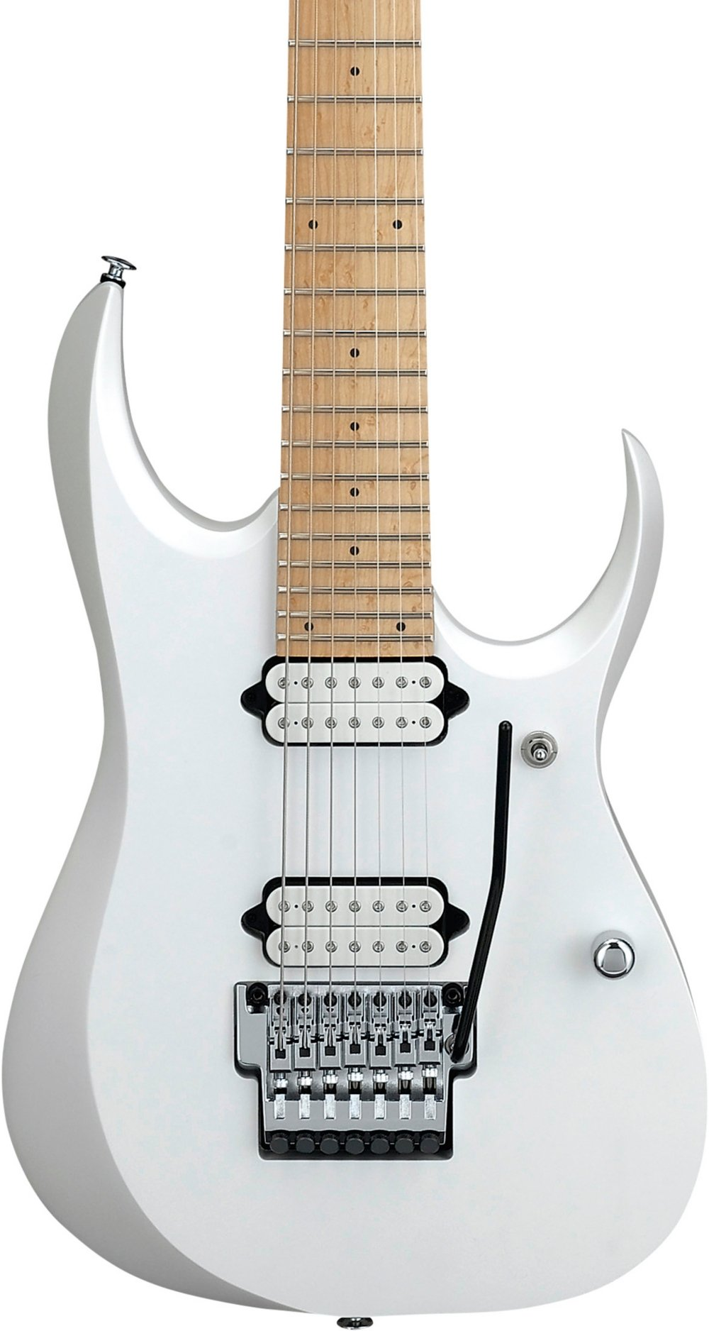 Cheap Ibanez RGD Prestige 7-String Electric Guitar Satin Pearl White Black Friday & Cyber Monday 2019