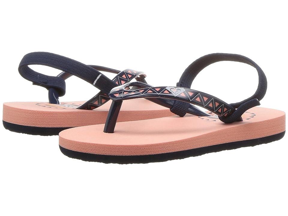 Roxy Kids Pebbles VI (Toddler) (Peaches) Girls Shoes