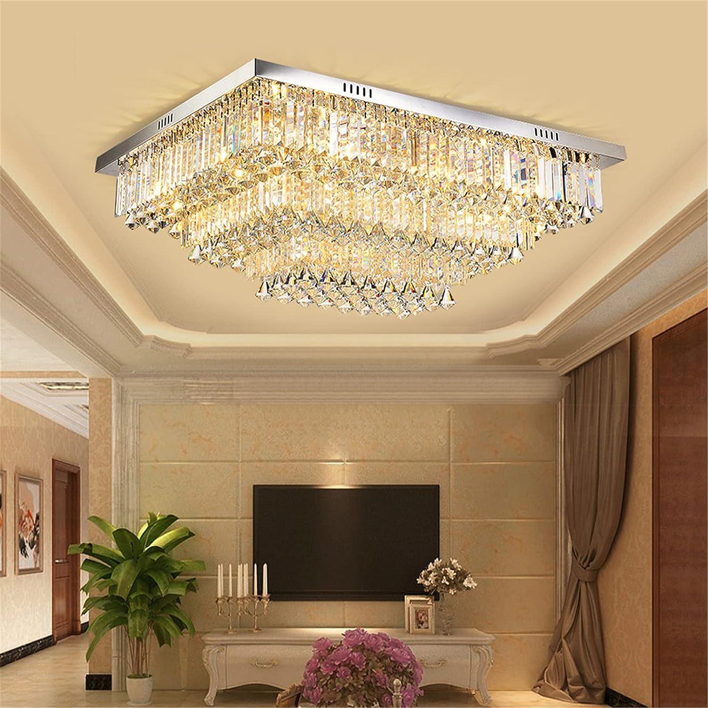 TFCFL Reservation Max 85% OFF Crystal Ceiling Light 3-Color Crysta Change Transparent K9