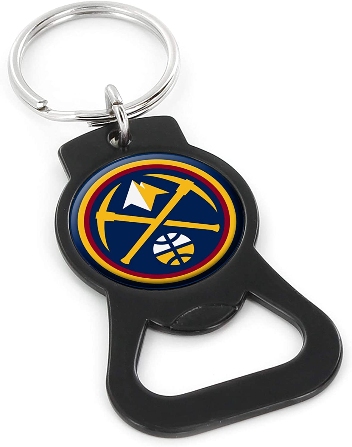 aminco NBA unisex-adult Bottle Black Opener Max 61% OFF Keychain Online limited product