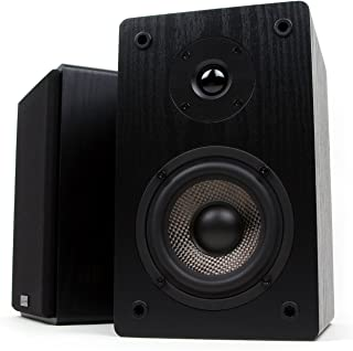 Micca MB42 Bookshelf Speakers with 4-Inch Woofer (Pair) (Renewed)