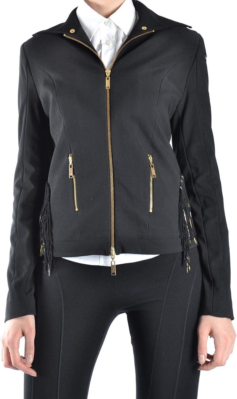 BALIZZA Women's MCBI12908 Black Polyester Jacket