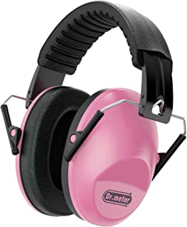 Dr.meter Adjustable Head Band Kids Noise Reduction Earmuffs with 27 NRR Hearing..