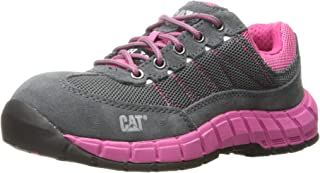 Women's Exact Steel Toe / Castlerock/Pink Work Shoe