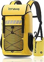 IDRYBAG Roll Top Waterproof Backpack Large 45L, Durable Laptop Backpack Waterproof Outdoor, Dry Bag Backpack Water Sports ...