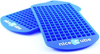 niceCube Mini Ice Cube Trays – Great for Small Crushed Ice – Silicone Ice..