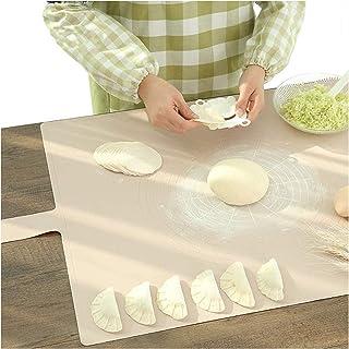 Vandove Tapis de Cuisson en Silicone,Tapis Patisserie Antidérapant Tapis de Pâte,Réutilisable Baking Mat Feuille à Pâtisse...