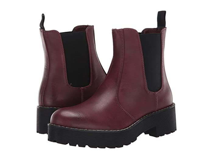 Dirty Laundry  Margo (Burgundy Smooth) Womens Pull-on Boots