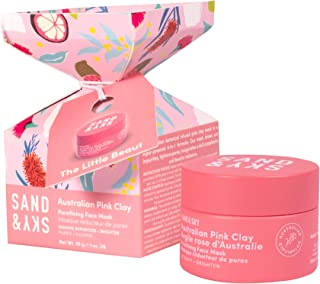 Sand & Sky The Little Beaut. Limited Edition Face Mask Holiday Gift & Stocking Stuffer. Australian Pink Clay Face Mask Set