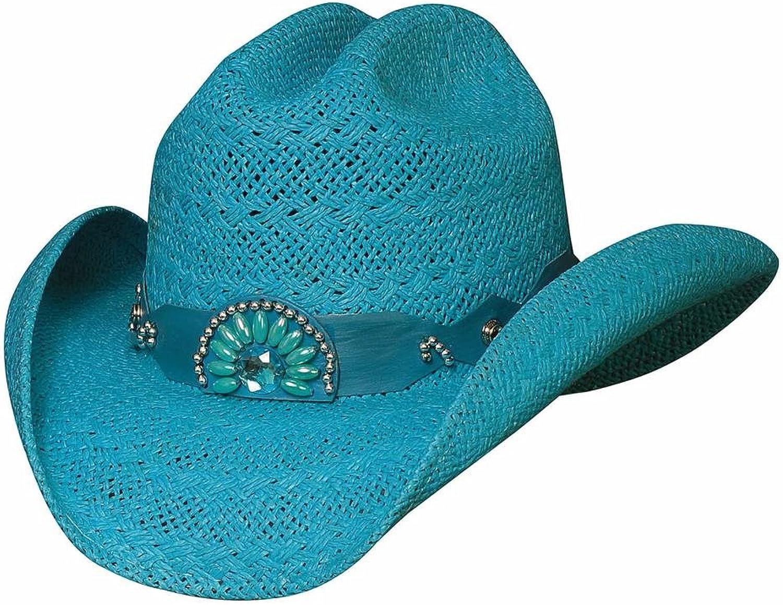 Bullhide Hats Women's Itchygoonie bluee Straw Cowboy Hat X_large