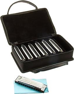 Hot Rod Deluxe Harmonica 7unidades) con Case