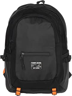 Tommy Jeans Men's Urban Tech Backpack Nylon, Black - AM0AM05910