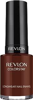 REVLON Colorstay Nail Enamel, French Roast, 0.4 Fluid Ounce