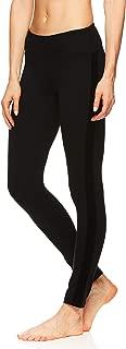 Gaiam Women's Om Yoga Pants - Performance Compression Full Length Spandex Leggings