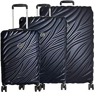 Alexis 3-Piece Lightweight Luggage Set Hardside Spinner Suitcase with TSA Lock (21