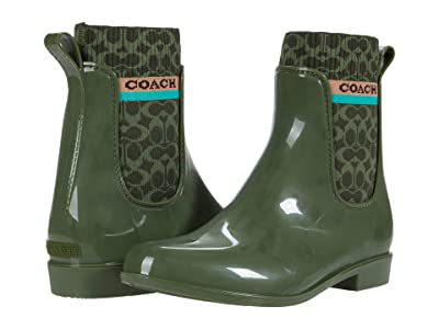 COACH Rivington Rain Bootie Women
