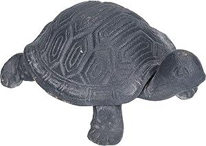AB Tools Tartaruga Giardino Scultura Statua Ornamento Metallic Animale Decorazione Prato