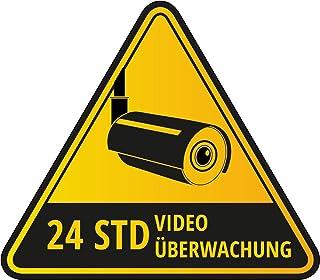 Suchergebnis Auf Für Aufkleber Videoüberwachung Auto Motorrad