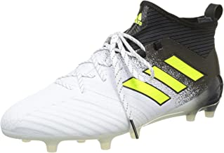 adidas Ace 17.1 Firm Ground Mens Football Boots - White-9.5